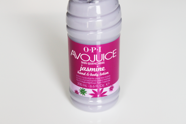 Hand and body lotion avojuice opi