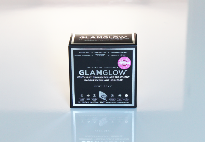 glamglow youthmud packaging