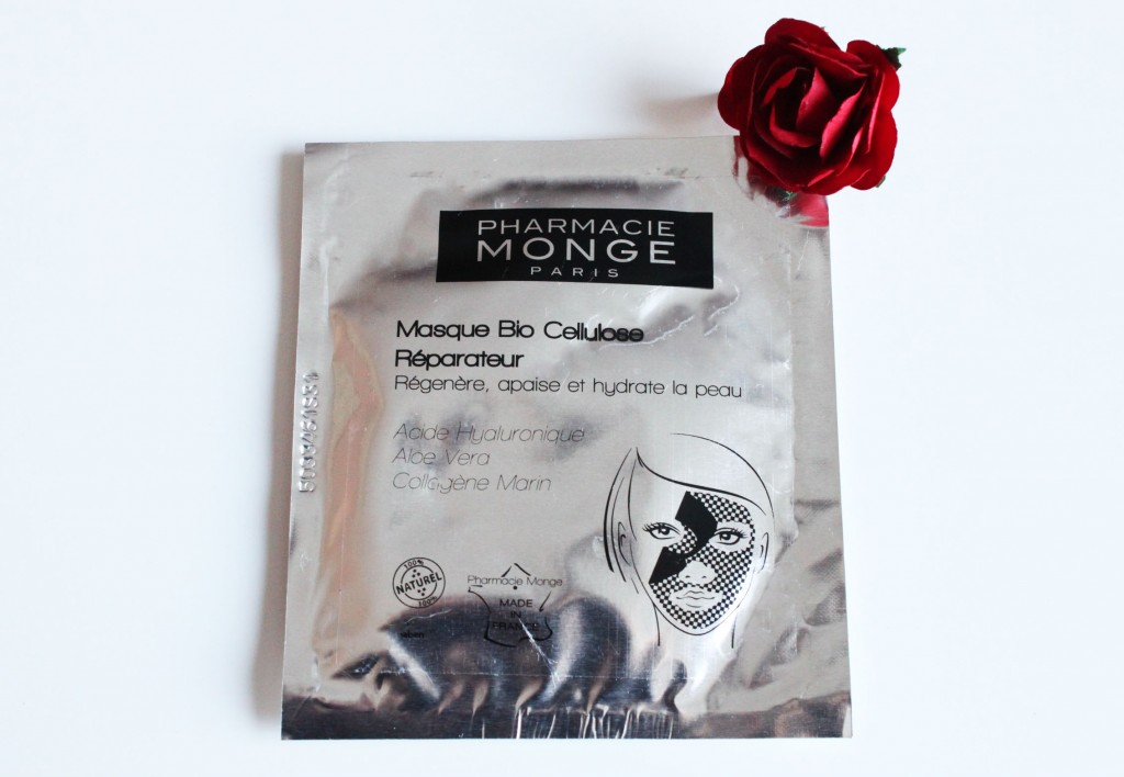 masque bio cellulose pharmacie monge