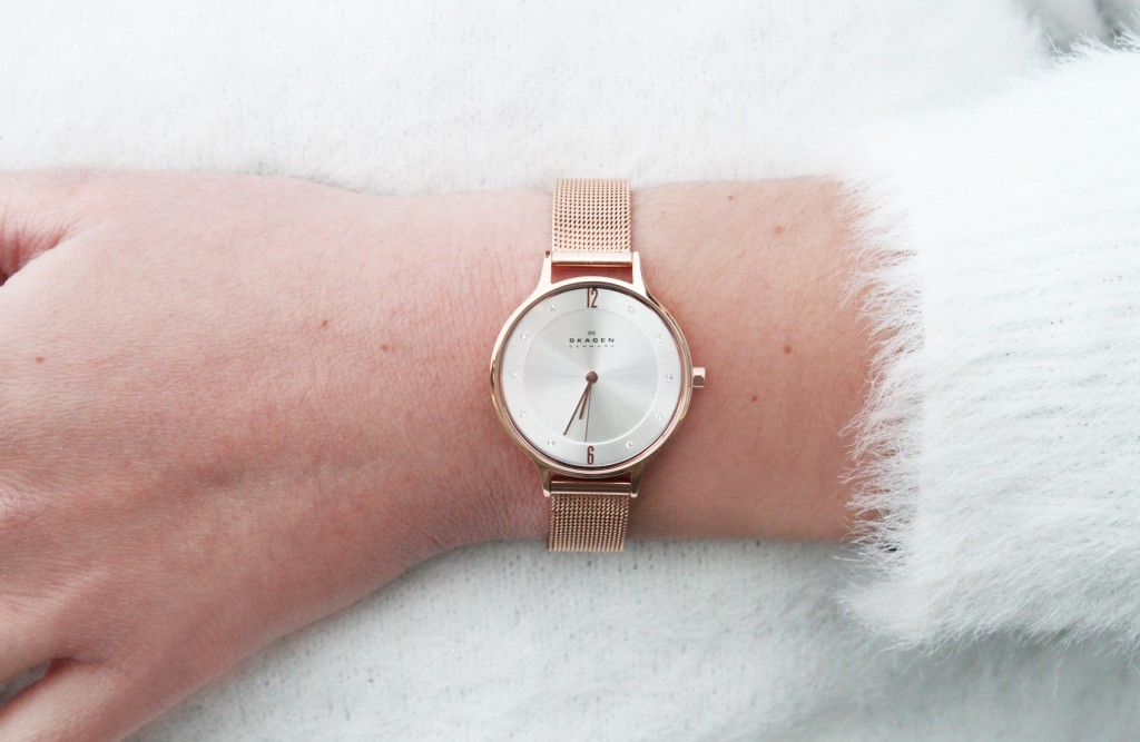 montre skagen rose gold instant couleur