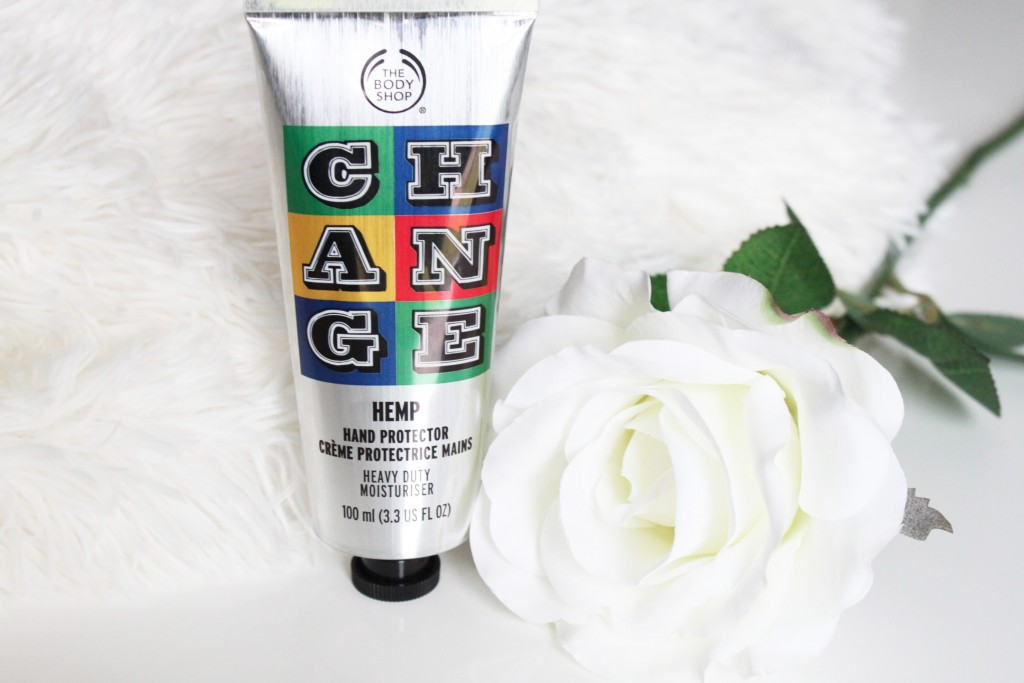 the body shop creme main chanvre change