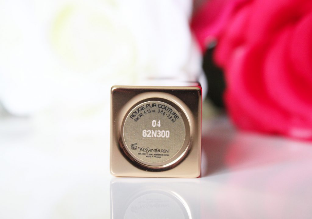 04 rouge pur couture YSL