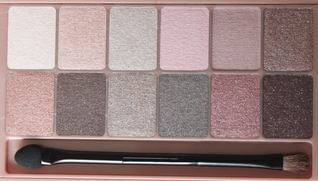 palette the blushed nudes maybelline