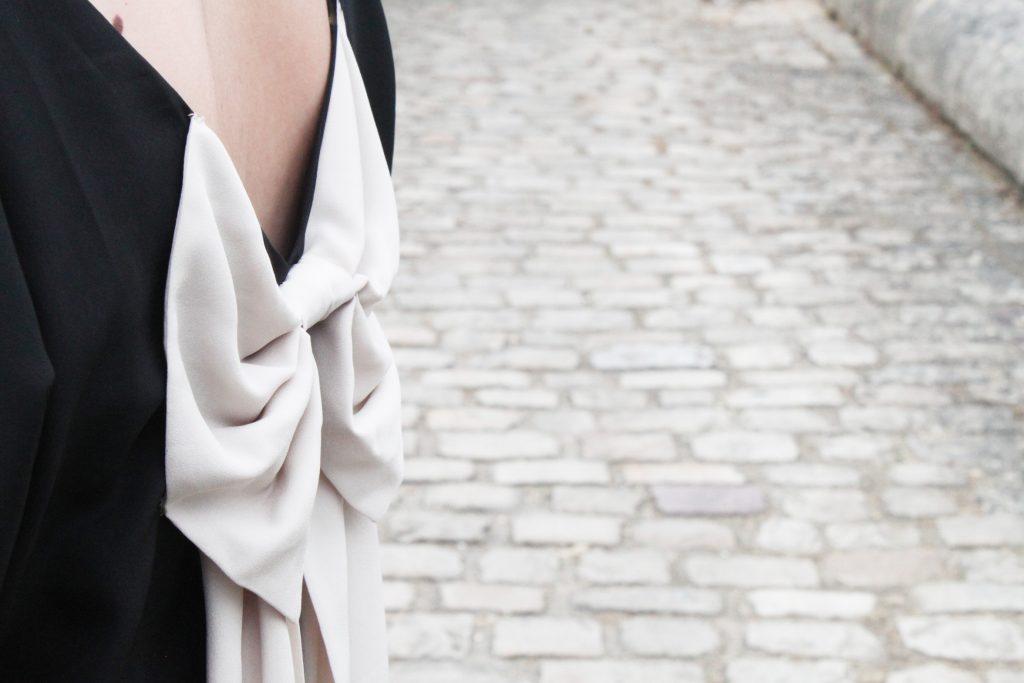 robe vero moda noeud