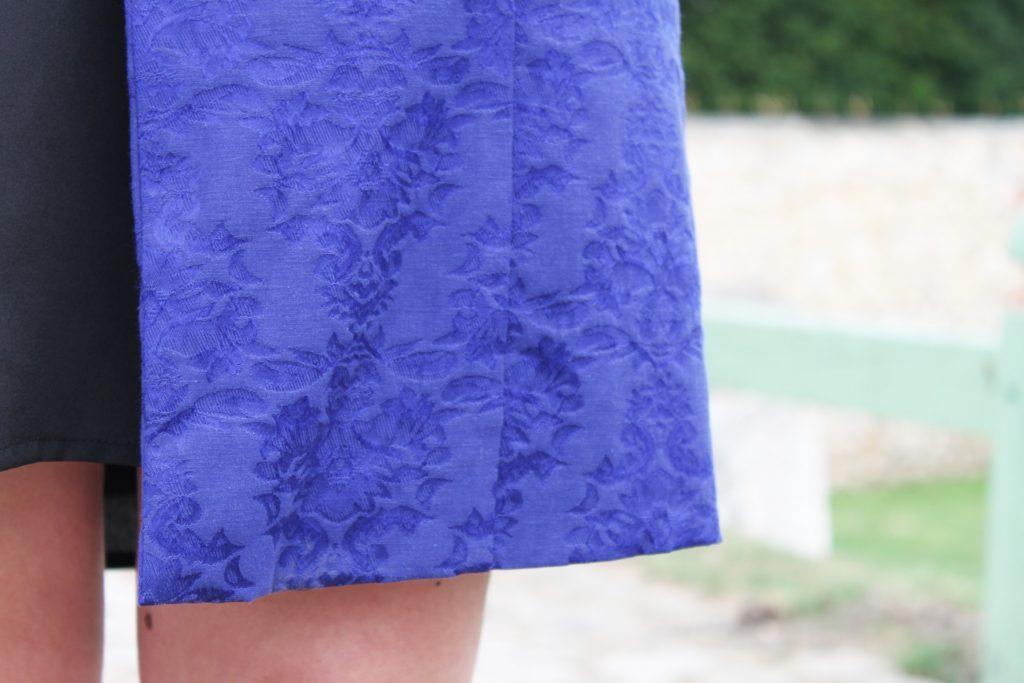 veste bleu eurodif