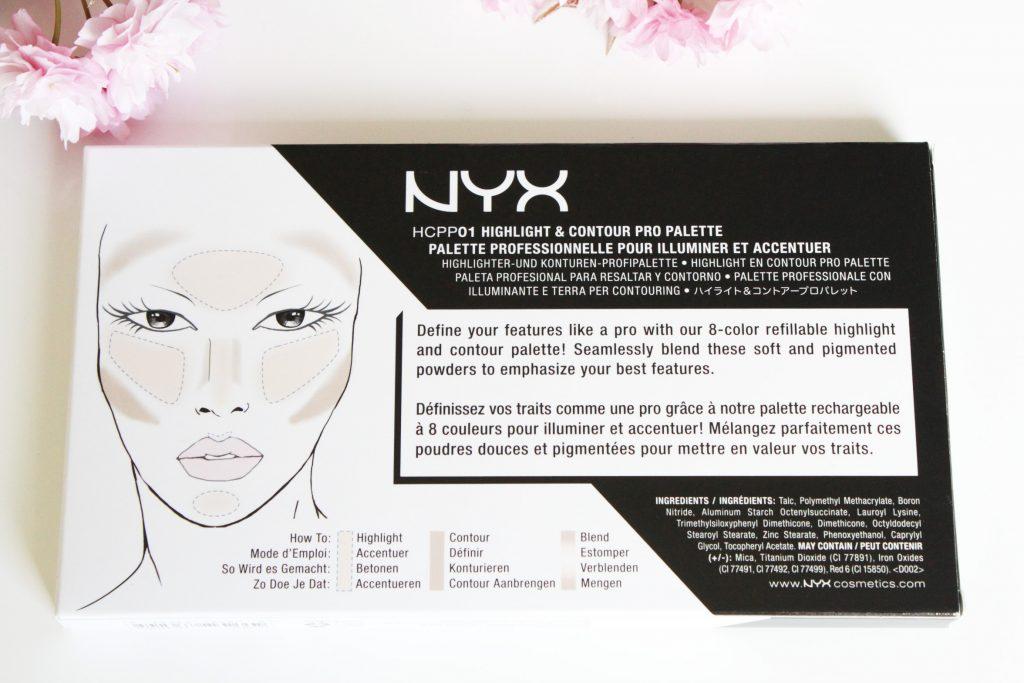 nyx-contour-pro-palette