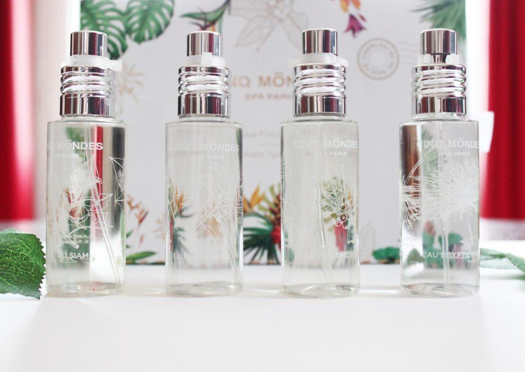 eaux fraîches aromatiques cinq mondes