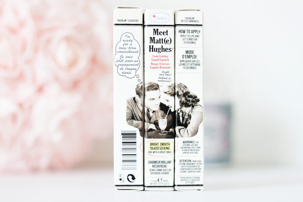 the balm liquide meet matte hughes