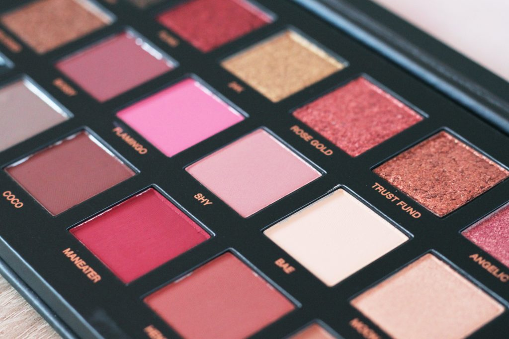 fards palette Huda Beauty