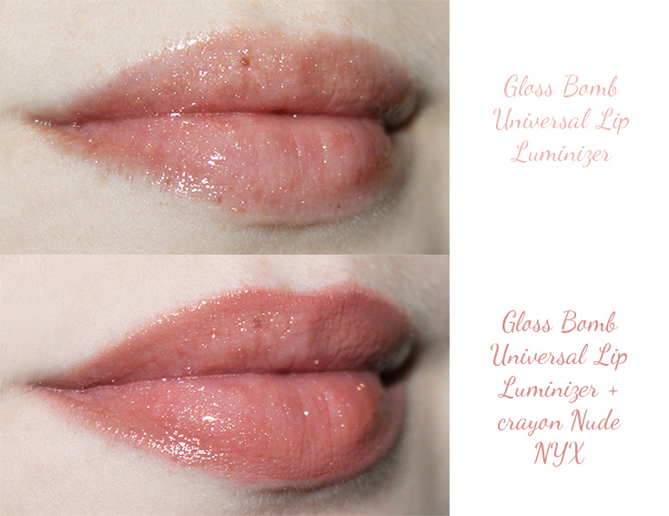 Swatches Gloss Bomb Lip Luminizer Fenty Beauty