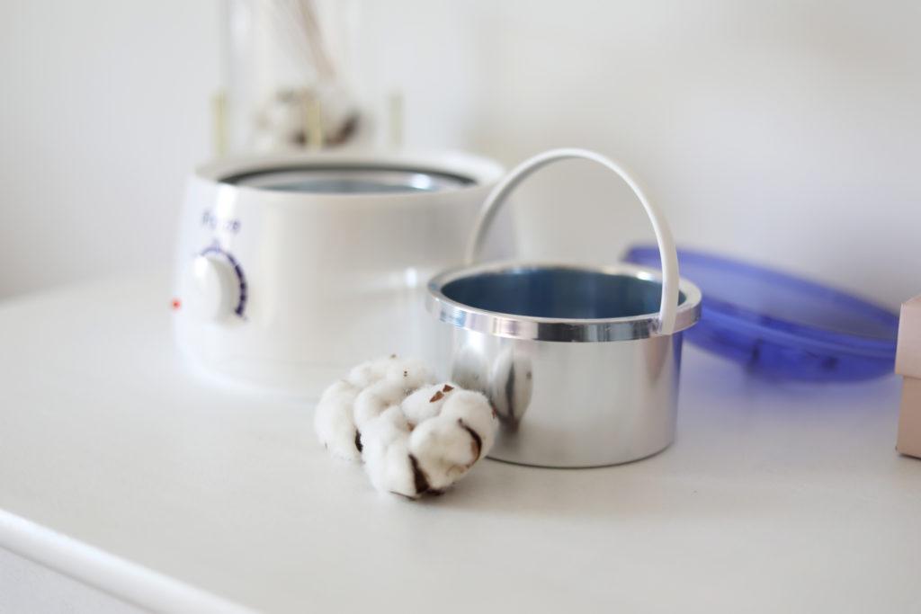 chauffe cire pot
